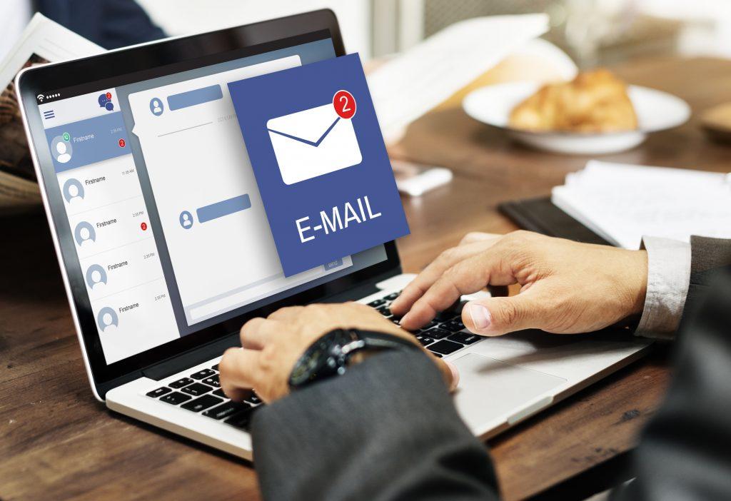 パソコンでメール
