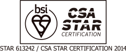 CSA STAR CERTIFICATION 2014〔STAR 613242〕