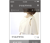 LINEアプリ内でのお買い物完結