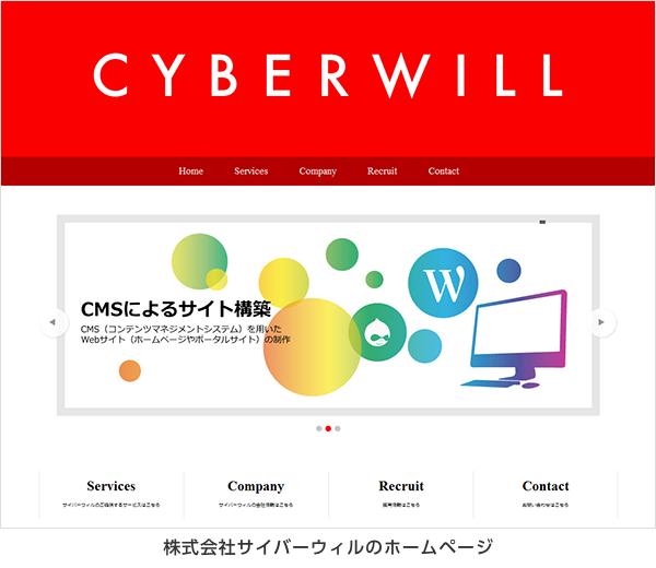株式会社サイバーウィル 公式サイト