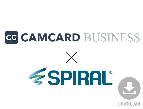 CAMCARD BUSINESS(キャムカードビジネス)×SPIRAL(スパイラル)